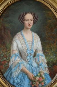 robe bleue 2